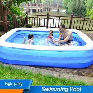 Kids Inflatable Pool High Quality Children's Home Use Paddling Pool Large Size Inflatable Square Swimming For Baby1