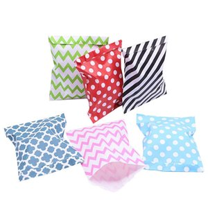 25 50pcs 13*18cm Multicolor Paper Bag Dot Wavy Stripe Candy Bags for Wedding Party Kids Birthday Gift Snack Wrapping Supplies 8z