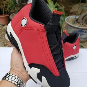 Authentic 14 Og High Basketball New Shoes Gym Red Black White Top 14s 487471 -006 Men Sports Sneakers With Box 0q0 with logo