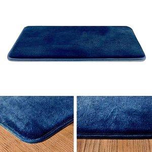 Memory Foam Bath Mat, não escorregar absorvente Super Velvet Cozy Banho Rug Tapete, 40x60cm / 50x80cm
