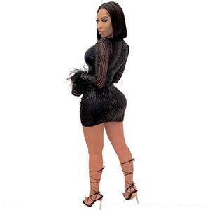 nEtN 2019 Women039;s A8103 Clothes Newspaper Son Slim Printing Dress