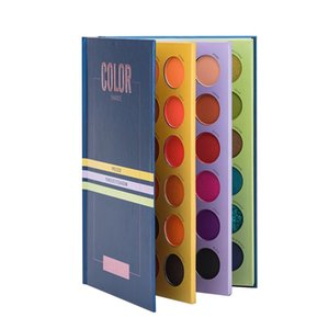Beauty Glazed 72 Color Eyeshadow Palette Color Shades Book Eye Shadow Pigment Long Lasting Brighten Make Up Pallete Palette