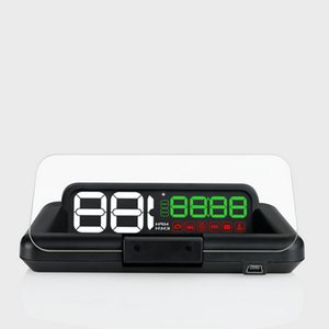 New C500 Car OBD2 HUD Head Up Display HD LED With adjustable reflection board nore clear in the daytime