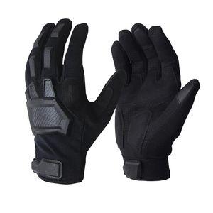 guanti dello schermo di tocco Tactical Airsoft Paintball militari Army Men forze speciali antiscivolo bicicletta piena Finger Gloves palestra 201104