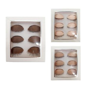 Silicone Mannequin Head Replacement Eyelids Removeable for Practice False Eyelash Extensions Makeup Model Massage Training Heads