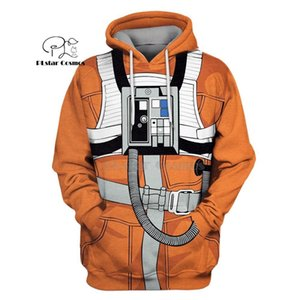 PLstar Cosmos X-Wing Pilot armstrong space suite 3d hoodies Sweatshirt Winter autumn funny Harajuku Long sleeve streetwear 201006