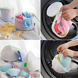 6pcs set New Travel Laundry Makeup Bag Bra Underwear Cosmetic Pouch Mesh Net Wash Bag Zipper