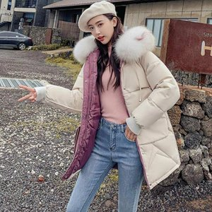 Winter Jacket Women Thick Warm Fur Hooded Long Parka Mujer Cotton Padded Jacket Plus Size 3XL Slim Winter Coat Female