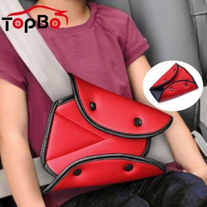 Auto Triangolo Seggiolino Auto Safety Belt rilievo copertura del bambino del bambino del prodotto Holder regolazione della cinghia Clip Pad di sicurezza per i bambini