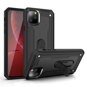 Para iPhone 11 Pro Max XR XS MAX 7 8 PLUS Caixa de telefone de armadura híbrida 360 graus Rotating Kickstand Capa de carro resistente