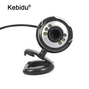 Câmera USB 30M HD com microfone 30 Mega Pixel Web Cam 6 LED HD Webcam Câmera Mic para PC Laptop1