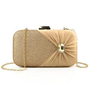 For Women Bag Party Round Handbag Bag Rhinestone Banquet Clutch Classic Evening Shoulder 2020 Crystal Designer Purse Luxurys Bags Rptbc