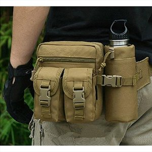 Tactical Pouch Military Men Hip Waist Belt Bag Small Pocket Running Pouch Outdoor Travel Camping Bags Phone Case