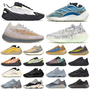 adidas yeezy boost 700 v3 yezzy v2 380 kanye west wave runner scarpe da corsa magnete Vanta analogico per uomo donna statico malva solido di lusso scarpe di design taglia 36-45