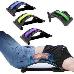 Back Strecher Equipment Massager Magic Stretch Fitness Lumbar Support Relaxation Spine Pain Relief