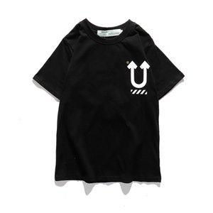 Camiseta de manga corta conjunta conjunta Fantasma Ghost Hands Ghost Claws Apple Fashion Mark Blanco y negro Pareja Camiseta de manga corta