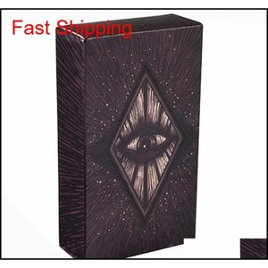 78 tarot cards deck english light visions cards deck oracles electronic guide book game toy divination board game ACnDY