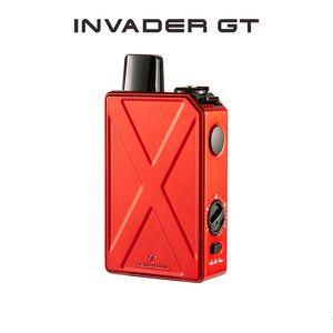 Teslacigs Invader Gt Mod Pod kit Built-in 1200mah Battery Refillable 3ml Empty Cartridge Vape Carts Adjustable Airflow Starter Kit Authentic