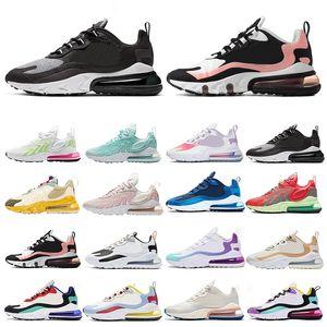 Mens React ENG Mens Running Shoes Triple Black Trails Bauhaus Battle Blue Dust Optical Womens Trainers Sports Sneakers Size 7-13