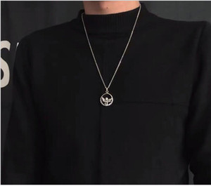 New arrival Harajuku style guitar angel necklace dark earth cool hip-hop jump di sweater chain accessories men and women tide
