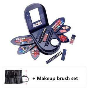 New High Quality Owl Case makeup kit,Fashion cosmetics set,Mosituizer Lipgloss,WaterProof Mascara,Magic Eyeshadow,Sexy Lipstick