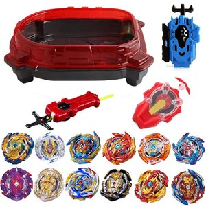New Launchers Beyblade Toupie Bayblades Metal Black bables Set burst sparking Fafnir Box bey blade Bey blade Toys For Childn 201014