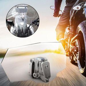 Cam Ekran Uzatma Spoiler Rüzgar Deflektöründe Motosiklet Klipsi1