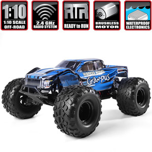 HSP RC Car 1 10 Scale Off Road Monster Truck 94601PRO Electric Power Brushless Motor Lipo Battery High Speed Hobby Vehicle Toys