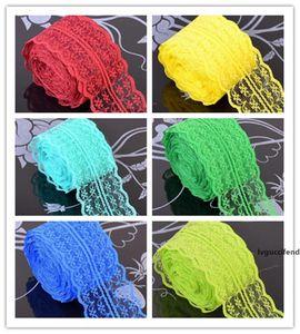 Hot Home Textiles 10 verges de beau ruban de dentelle 4,5 cm de large, Vêtements bricolage Accessoires Accessoires floraux