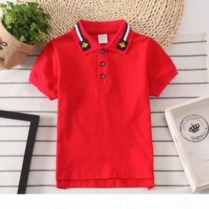 2019 Fashion Polo Kids Shirt Boys Wear Children Clothes Children's T-shirt Cross-border