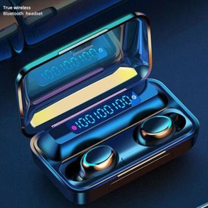 TWS Bluetooth 5.0 Earphones Charging Box Wireless Headphone 9D Stereo Sports Waterproof Earbuds Headsets With Microphone