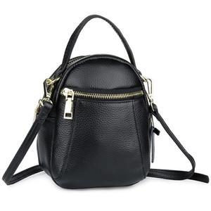 COMFORSKIN القادمون الجدد مضمون جلد البقر رسول حقائب النساء نمط حقائب جلدية مبيعات شركة Bolsas الأنثى على شكل برميل