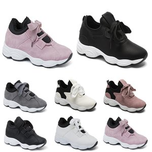 free shipping Non-Brand running shoes for women Chaussures White Black Pink Grey Suede fashion Sports Sneakers 36-40 Style 211