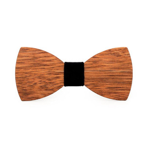 JAYCOSIN bow tie Wooden Wood Bow Tie Mens Wooden Ties Party Business Butterfly Cravat Party Ties mens fashion