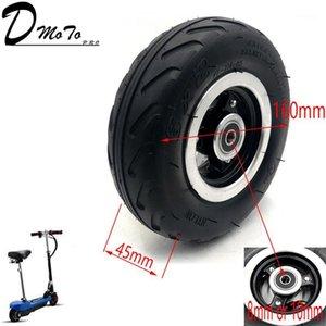 """6x2 인플레이션 타이어 휠 사용 6 """"타이어 합금 허브 160mm 공압 타이어 전기 스쿠터 F0 공압 휠 트롤리 카트 Air1"""