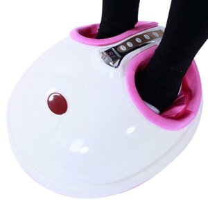 Electric Foot Massager W  Shiatsu Heating Rolling Air pressure Massage Machine