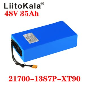 LIITOKALA 48V 35AH 21700 13S7P Batteria per bicicletta elettrica 48V 35Ah 1000 W Batteria al litio integrata 20A BMS BMS Motore elettrico