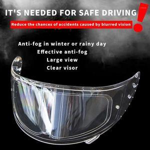 Evrensel Anti-Sis Yama Visor Lens Motosiklet Tam Açık Yüz Kask Lens Anti-Sis Filmi Motosiklet Kask Sticker1