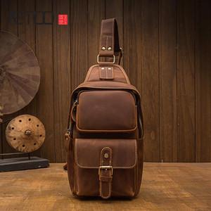 HBP AETOOO ручной работы сумасшедшая кожаная кожаная сумка для лошади