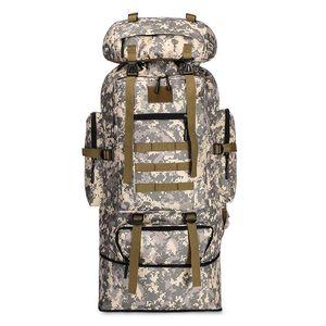 100L Tactical rampicante zaino borsa impermeabile camuffamento esterno camuffamento escursionismo campeggio alpinismo sport backpacks da viaggio