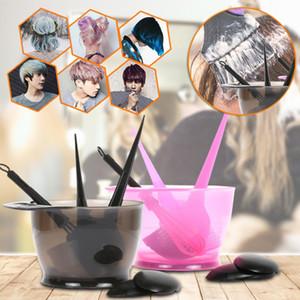 Coloration des cheveux couleur brosse Kit Dyeing peigne Jatte Salon Tint Ensemble d'outils Brosses Couleur des cheveux Outils professionnels Hairdressing