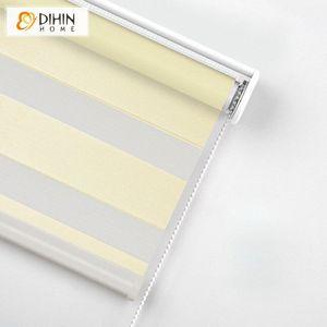 Yeni Geliş Modern 12 Renkler Özelleştirilmiş Zebra Panjur Rollor Kör Perde Kolay Perdeler bD7D # yüklemek için