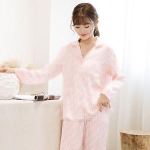 Letra impressa completa Mulheres Pijamas Set Moda Soft Touch Lady Pijamas Personalidade Luxo Charme Meninas lar Roupa