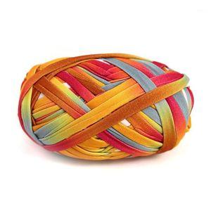 BEST10 Roll Set New Super Soft Thick Chunky T Shirt Yarn For Knitting Blanket Carpet Handbag Crochet Cloth Yarn Color Number 1361