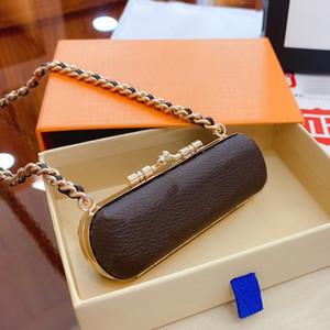 Omuz Çantası Mini Ruj Kutusu Çantası Yuvarlak Ve Katı Güzel Küçük Çanta Eşleştirme Kutusu 10 * 3 cm Ücretsiz Kargo