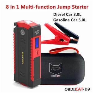 Neuester Autosprungstarter D9 600A 12V Power Bank Startgerät Auto Starter Buster LED für Batterieladegerät1