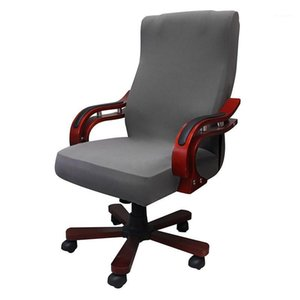 Universal Size Gaming Chair Covers Computer Office Elastic Armchair Slipcovers Seat Arm Chair Covers Stretch Rotating1