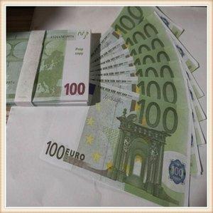Оптовая продажа 43 пропкой атмосфера 100euro Trick Детская игрушка сюрприз для взрослых украшения банкноты подарки