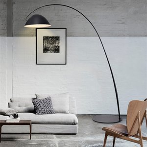 Modern simple and creative atmosphere Nordic  living room fishing light floor-to-ceiling light study decoration lamp