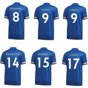 2020 2021 Leicester MADDISON MAGUIRE Mens Soccer Jerseys MORGAN VARDY GRAY NDIDI Home Away Football Shirt City Short Sleeve